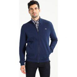 Lacoste Bluza rozpinana marine. Szare bluzy męskie rozpinane marki Lacoste, z bawełny. W wyprzedaży za 389,35 zł.