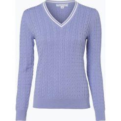 Swetry klasyczne damskie: Marie Lund - Sweter damski, lila