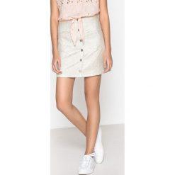 Minispódniczki: Błyszcząca spódnica na guziki FAUNE