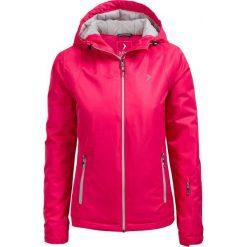 Kurtka narciarska damska KUDN600 - RÓŻ MALINOWY - Outhorn. Czerwone kurtki damskie zimowe marki Outhorn, m, z materiału. W wyprzedaży za 139,99 zł.