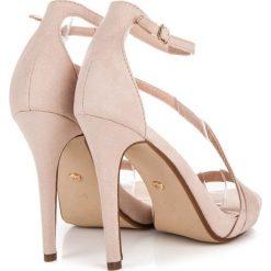 Szpilki: Eleganckie sandały szpilki DALEYZA odcienie brązu i beżu