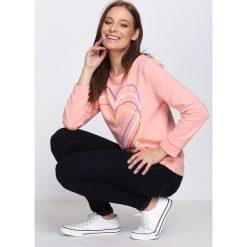 Różowa Bluza Just Flexing. Czerwone bluzy rozpinane damskie Born2be, l. Za 24,99 zł.