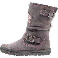 Richter Kozaki ash/fuchsia. Niebieskie buty zimowe damskie marki Roxy, z tworzywa sztucznego, na wysokim obcasie. W wyprzedaży za 265,30 zł.