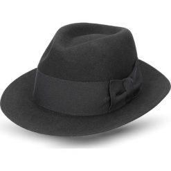 Kapelusz menat czarny. Czarne kapelusze męskie Recman. Za 139,00 zł.