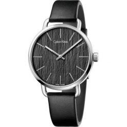 ZEGAREK CALVIN KLEIN GENT EVEN K7B211C1. Czarne zegarki męskie marki Calvin Klein, szklane. Za 969,00 zł.