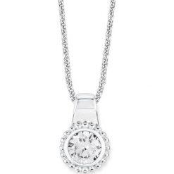 Naszyjniki damskie: Srebrny naszyjnik z zawieszką – dł. 42 cm