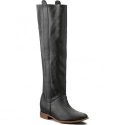 Oficerki L37 - High End Up S29 Czarny. Czarne buty zimowe damskie L37, ze skóry, na obcasie. W wyprzedaży za 499,00 zł.