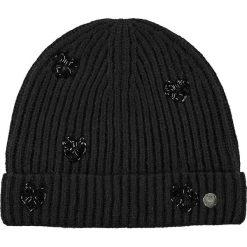Barts - Czapka Venus. Czarne czapki zimowe damskie marki Barts, z dzianiny. W wyprzedaży za 119,90 zł.
