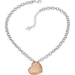 Naszyjniki damskie: Naszyjnik w kolorze srebrnym z zawieszką – (D)40 cm