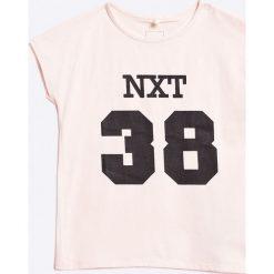 Bluzki dziewczęce bawełniane: Name it - Top dziecięcy 110-164 cm