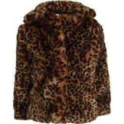GAP LEOPARD COAT Kurtka przejściowa leopard print. Żółte kurtki dziewczęce przeciwdeszczowe GAP, z materiału. W wyprzedaży za 174,30 zł.