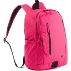Plecak NIKE - BA5532 666. Czerwone plecaki męskie Nike, z materiału, sportowe. Za 119,00 zł.
