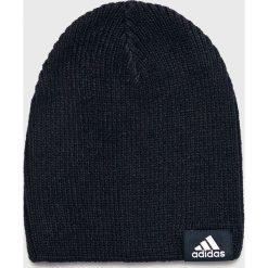 Adidas Performance - Czapka. Czarne czapki zimowe męskie adidas Performance, z dzianiny. Za 59,90 zł.