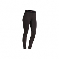 Legginsy narciarskie FRESHWARM damskie. Czarne legginsy marki WED'ZE, xs, z materiału. W wyprzedaży za 39,99 zł.