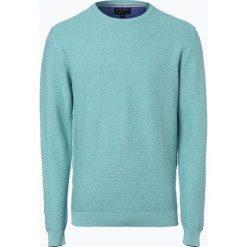 Swetry męskie: Nils Sundström - Sweter męski, niebieski