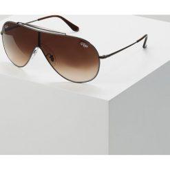 RayBan Okulary przeciwsłoneczne gunmetal. Szare okulary przeciwsłoneczne damskie lenonki marki Ray-Ban. Za 719,00 zł.