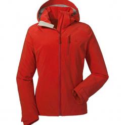 Kurtka funkcyjna w kolorze czerwonym. Czerwone kurtki damskie marki Schöffel, z materiału. W wyprzedaży za 420,95 zł.