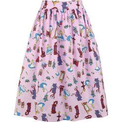 Alicja w Krainie Czarów Down The Rabbithole Spódnica wielokolorowy. Różowe spódniczki Alicja w Krainie Czarów, m, z nadrukiem, z materiału. Za 99,90 zł.