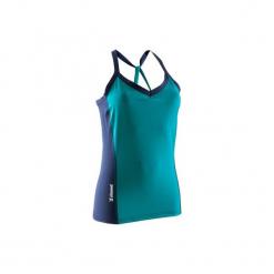 Koszulka wspinaczkowa damska. Niebieskie t-shirty damskie marki SIMOND, l, z elastanu. W wyprzedaży za 54,99 zł.