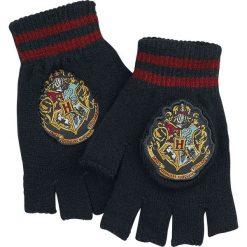 Rękawiczki męskie: Harry Potter Hogwarts Rękawiczki bez palców czarny