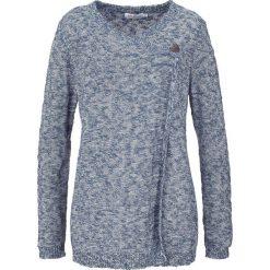 Sweter rozpinany, długi rękaw bonprix indygo. Szare kardigany damskie marki Mohito, l. Za 59,99 zł.