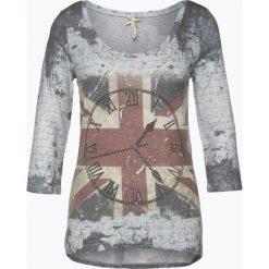 T-shirty damskie: Key Largo - Koszulka damska – Clock, niebieski