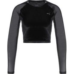 Puma EXPLOSIVE  Bluzka z długim rękawem puma black. Czarne bluzki damskie Puma, s, z elastanu, z długim rękawem. W wyprzedaży za 183,20 zł.