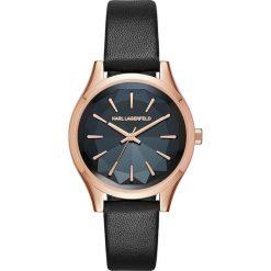 Zegarek KARL LAGERFELD - Janelle KL1625 Black/Rose Gold. Czarne zegarki męskie KARL LAGERFELD. W wyprzedaży za 649,00 zł.
