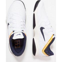 Nike Performance AIR ZOOM ULTRA Obuwie do tenisa Outdoor white/blackened blue/light cream/orange peel. Białe buty do tenisa męskie Nike Performance, z gumy. Za 379,00 zł.