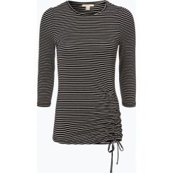 Esprit Casual - Damska koszulka z długim rękawem, czarny. Czarne t-shirty damskie Esprit Casual, xs, w paski. Za 59,95 zł.