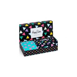 Combo Box Męski Happy Socks XBT60-099. Czarne bokserki męskie Happy Socks. Za 76,30 zł.