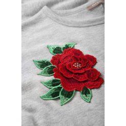 Bluzy rozpinane damskie: Bluza z haftowaną aplikacją