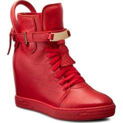 Sneakersy SERGIO BARDI - Manuela FW127293117RO  108. Czerwone sneakersy damskie Sergio Bardi, ze skóry. W wyprzedaży za 249,00 zł.