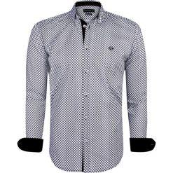 """Koszule męskie na spinki: Koszula """"Lanark"""" w kolorze czarno-białym"""