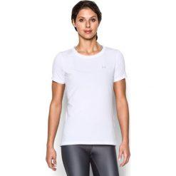 Topy sportowe damskie: Under Armour Koszulka damska HG SS biała r. XS (285637-100)
