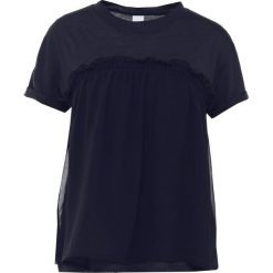 T-shirty damskie: BOSS Orange TERCOOL Tshirt z nadrukiem dark blue