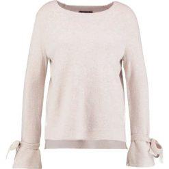 Swetry klasyczne damskie: comma Sweter cream melange
