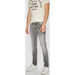 Trussardi Jeans - Jeansy 370. Szare jeansy męskie skinny Trussardi Jeans, z bawełny. W wyprzedaży za 479,90 zł.