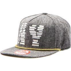 Czapka męska snapback szara (hx0178). Szare czapki z daszkiem męskie marki Dstreet, z nadrukiem, eleganckie. Za 69,99 zł.