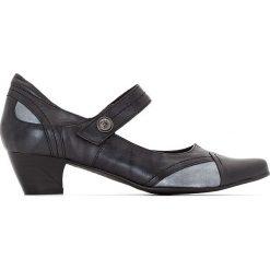 Buty ślubne damskie: Czółenka skórzane