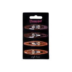 Donegal SPINKA do włosów Brown&Black 4szt FA-5552. Brązowe ozdoby do włosów marki Donegal. Za 4,43 zł.