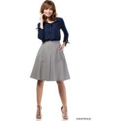 Spódniczki: Piękna kobieca spódnica z kontrafałdami