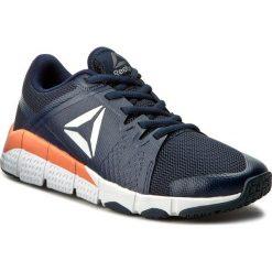 Buty Reebok - Trainflex BD4921 Navy/White/Pink. Szare buty do fitnessu damskie marki Reebok, z materiału. W wyprzedaży za 219,00 zł.