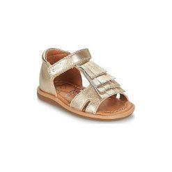 Sandały Dziecko  Shoo Pom  TITY FRINGE. Żółte sandały dziewczęce marki Shoo Pom. Za 237,30 zł.