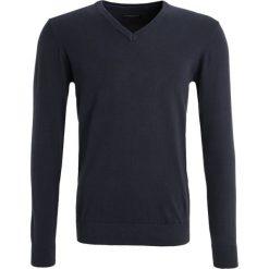 Swetry klasyczne męskie: Casual Friday Sweter navy