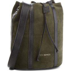 Torebka EVA MINGE - Miami 4G 18NN1372655EF  862. Zielone torebki worki Eva Minge, ze skóry. W wyprzedaży za 399,00 zł.