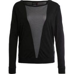 Bluzki damskie: Reebok Bluzka z długim rękawem black