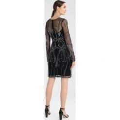 Frock and Frill BELORA SEQUIN Sukienka koktajlowa black. Brązowe sukienki koktajlowe marki Frock and Frill, z materiału. W wyprzedaży za 503,20 zł.