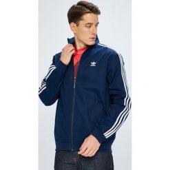 Adidas Originals - Kurtka. Niebieskie kurtki męskie bomber adidas Originals, l, z bawełny. W wyprzedaży za 279,90 zł.