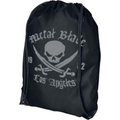 Metal Blade Pirate Logo Torba treningowa czarny. Czarne torebki klasyczne damskie Metal Blade. Za 29,90 zł.